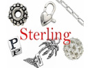 Sterling Silver Beads, Clasp, & Findings