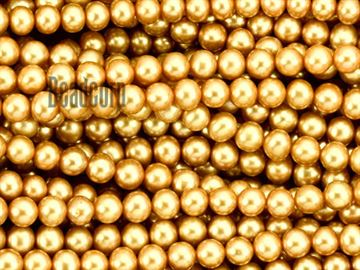 7-7.5mm Golden Potato Fresh Water Pearl