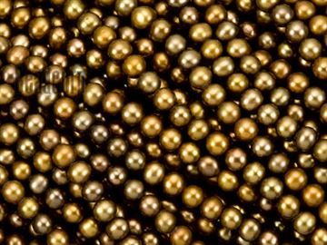 6-6.5mm Bronze Potato Fresh Water Pearl Beads