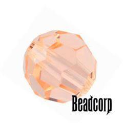 Swarovski 5000 Round Crystal Beads - Light Peach