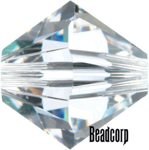 Swarovski 5301 / 5328 Bicone Beads - Crystal