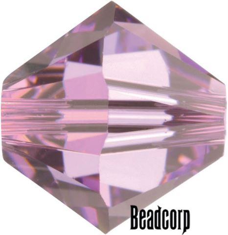 Swarovski 5301 / 5328 Bicone Beads - Light Amethyst
