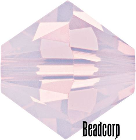 Swarovski 5301 / 5328 Bicone Beads - Rose Water Opal