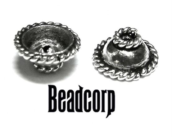 Sterling Bali Cap bb46 6mm