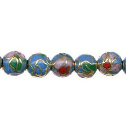 Cloisonne Beads Turquoise each