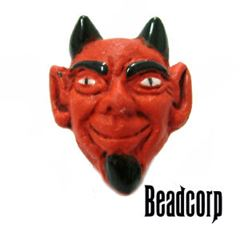 12mm Ceramic Devil Bead