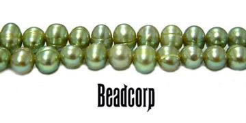4.5-5mm Green Fresh Water Pearls 15