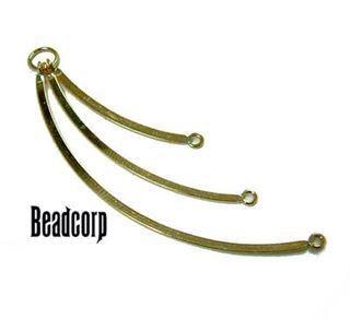60mm Gold Filled Flat Dangle Component
