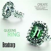 Queens Ring --Swarovski mini instruction booklet