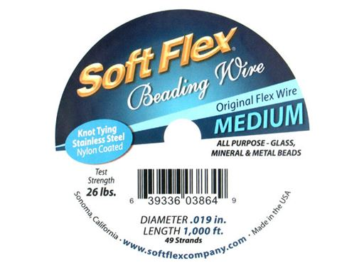 Soft Flex Beading Wire 30 Feet