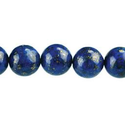 Lapis Semi Precious Round Beads (choose size)
