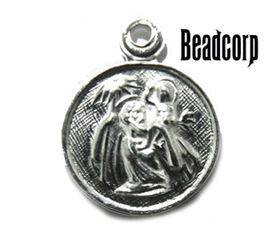 Sterling Silver Religious Medal / Charm