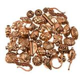 Copper Beads & Findings
