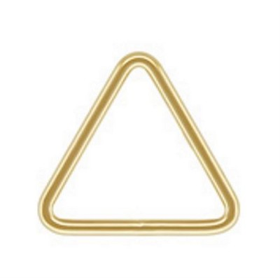 35mm Gold Filled 20 Gauge Closed Triangle Ring