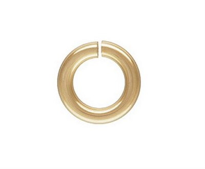 10mm  Gold Filled Locking Jump Rings 14/20kt. 14ga. (10 pcs.)