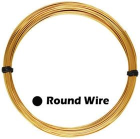 22 Gauge - Gold Filled Round Wire 1oz.