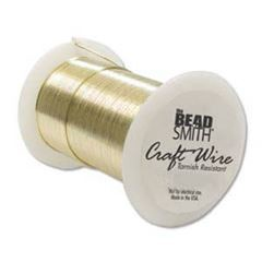 Craft Wire Gold (tarnish resistant) Beadsmith
