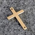 14.5x22.5mm Gold Filled Sideways Cross Charm