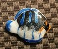 33x26mm Cloisonne Fish Focal Bead  *** Clearance ***
