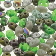 Superduo Beads 2.5x5mm Stone Henge Mix - Apprx 24GM/TB