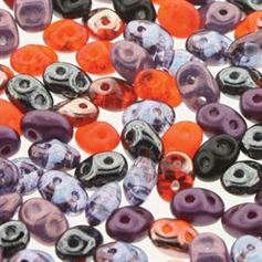 Superduo Beads 2.5x5mm Haunting Mix - Apprx 24GM/TB