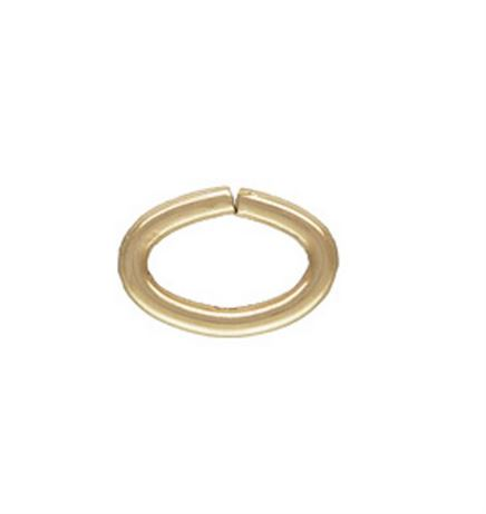 Gold Filled Oval 22ga Jump Ring 3x4.6mm (25 pcs.)