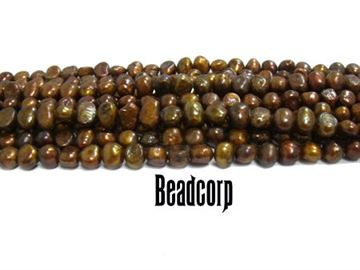 6-6.5mm Bronze Fresh Water Pearls 15