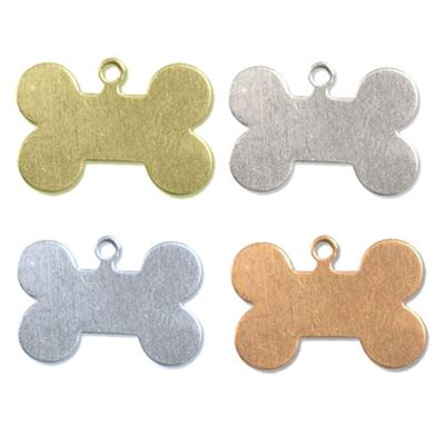 32x19mm Dog Bone Stamping Blank