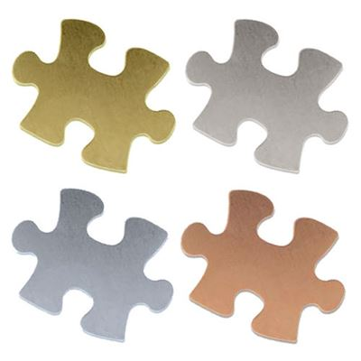 20x15mm Puzzle Piece Stamping Blank