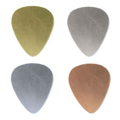20x17mm Guitar Pick Stamping Blank