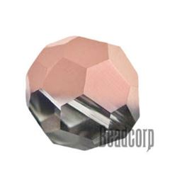 Swarovski 5000 Round Crystal Beads - Crystal Rose Gold