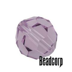 Swarovski 5000 Round Crystal Beads - Light Amethyst