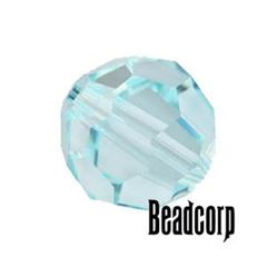 Swarovski 5000 Round Crystal Beads - Light Azore