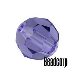 Swarovski 5000 Round Crystal Beads - Tanzanite