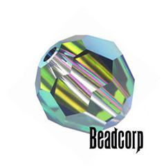 Swarovski 5000 Round Crystal Beads - Vitrail Medium