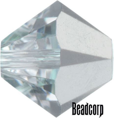 Swarovski 5301 / 5328 Bicone Beads - Crystal Comet Argent Light
