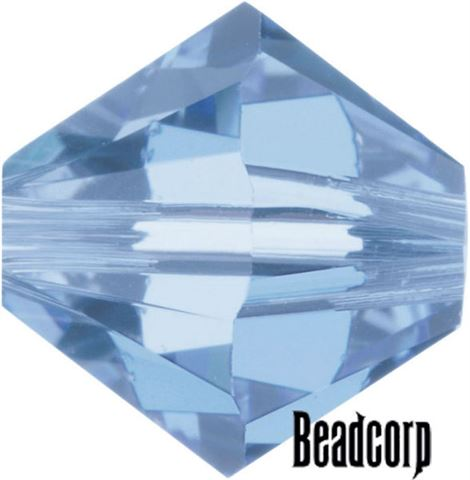 c2f2c129ae7bb Swarovski 5301 / 5328 Bicone Beads - Sapphire Light