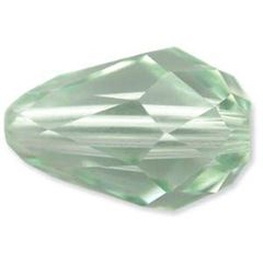 9x6mm Swarovski 5500 Tear Drop Beads - Chrysolite AB