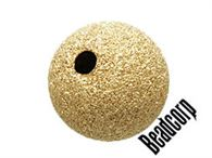 7mm Gold Filled Stardust Beads 1 pc.