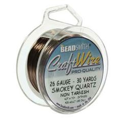 CRAFT WIRE 26GA ROUND 30YD SPL SMK QRTZ