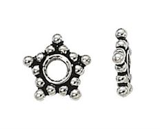 12mm Sterling Silver Bali Bead bb115