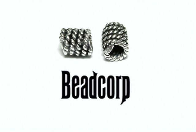 5mm Sterling Silver Bali Bead