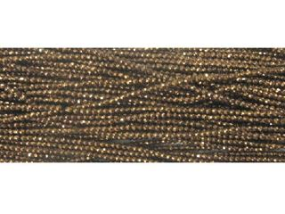 2mm Bronze Coated Hematite Faceted Beads 16