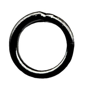 6mm Closed Jump Ring - Gun Metal - 50 pcs.