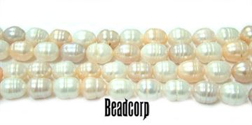 11-12mm Multi Color Fresh Water Pearls 15