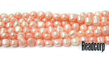 7mm Pink Fresh Water Pearls 15