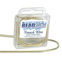 Beadsmith Gold French Wire 14 inches