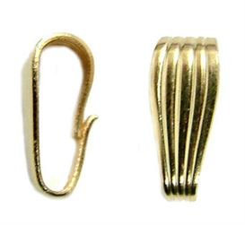 10x4.5mm Gold Filled Heavy Duty Snap Bail