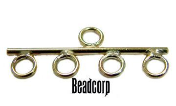 25mm Gold Filled Reducer Bars / Connector Bar 4-1
