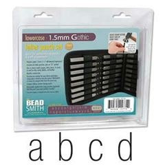 1.5mm Letter Set Uppercase Punch 27 Pc W/case